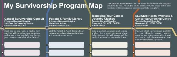My Survivorship Program Map